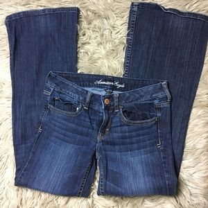 American Eagle Hipster Flare jeans size 6